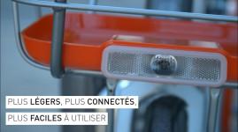 Vidéo : les habitants de la Métropole découvrent Vélo'v nouvelle génération