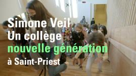 La rentrée 2021 au nouveau collège Simone Veil à Saint-Priest