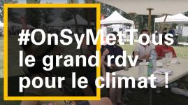 Le 30 juin, nous étions réuni·es pour parler climat ! #OnSyMetTous