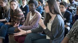 Le jour 1 des élus du Conseil métropolitain des jeunes