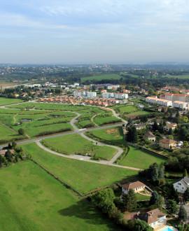 La Tour de Salvagny, option terrasse