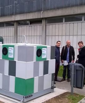 A Ecully, les étudiants se mobilisent pour le tri des déchets