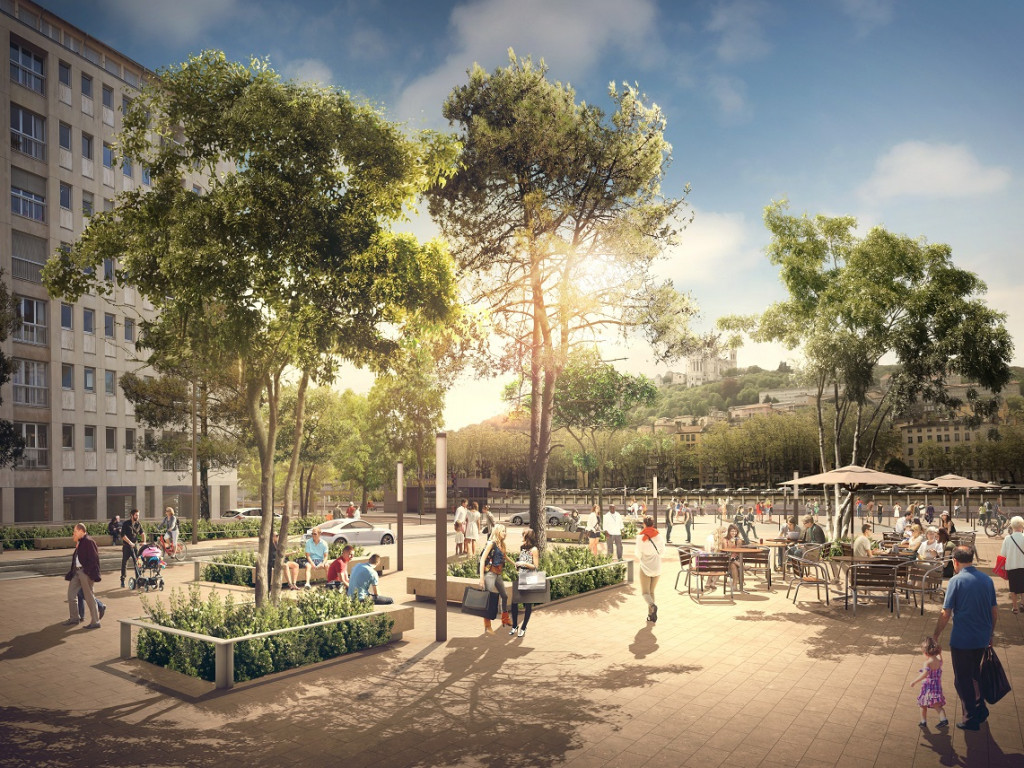 Les Terrasses de la Presqu'île : la nouvelle étape des Rives de Saône