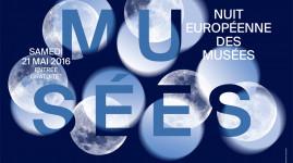 Le 21 mai c'est la nuit des musées !