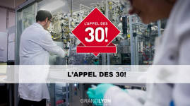 Vallée de la chimie : les 10 lauréats de l'Appel des 30 !