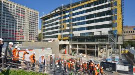 Visite de rentrée : zoom sur 3 grands projets dans la Métropole de Lyon