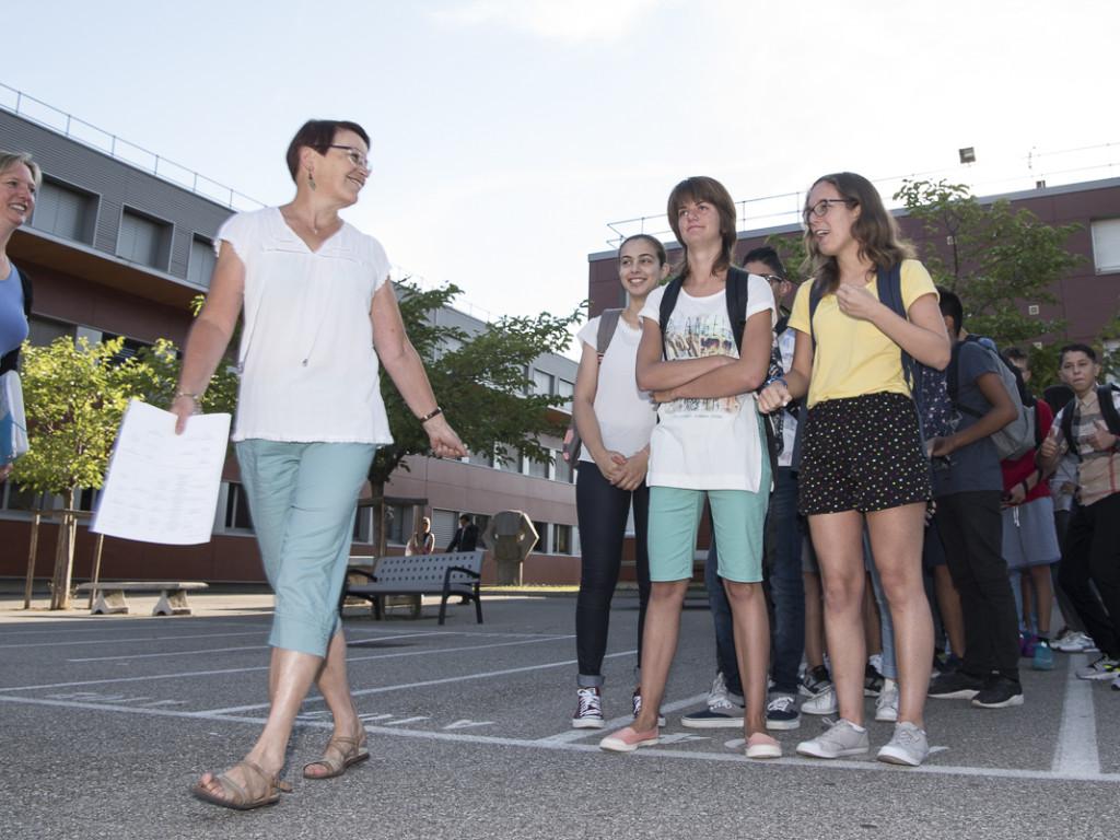 Rentrée des collèges : retour en classe