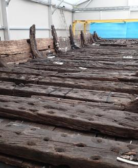 Une rénovation inédite pour la barque gallo-romaine de Lyon
