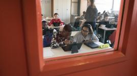 Des tablettes numériques au collège Victor Grignard