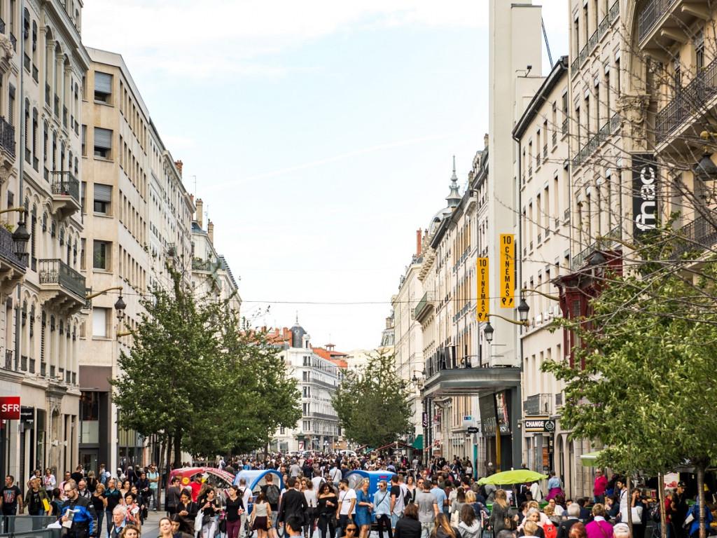 Cœur Presqu'île : des travaux pour embellir le centre de Lyon