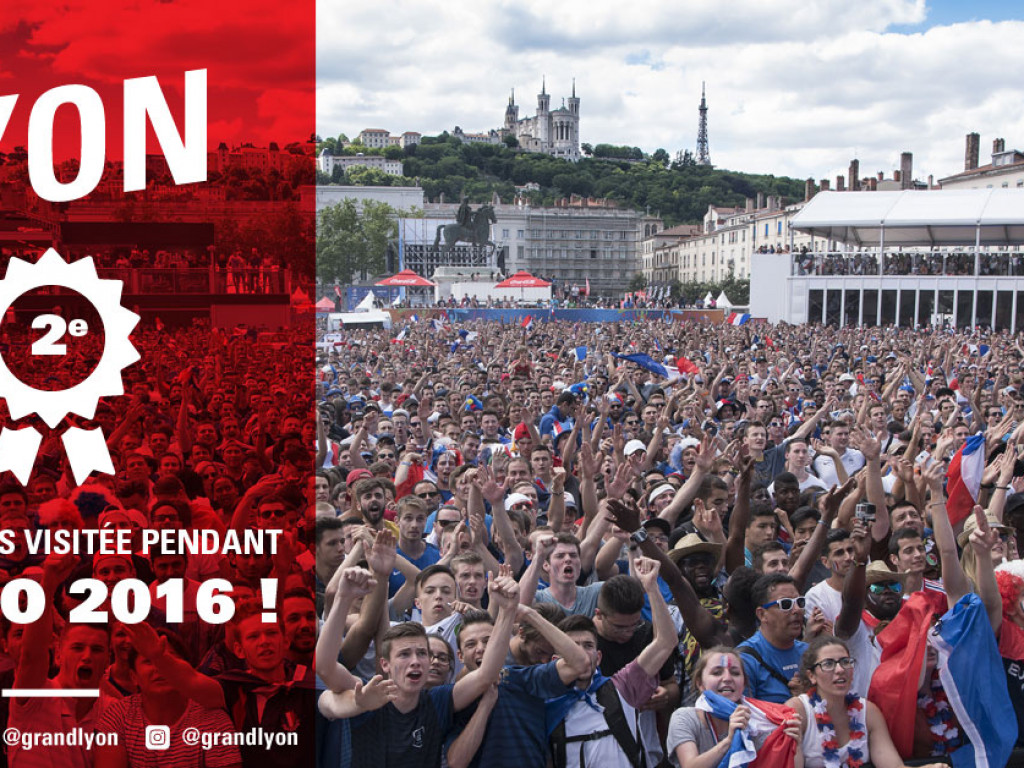 33% des spectateurs ont séjourné à Lyon pendant l'Euro 2016