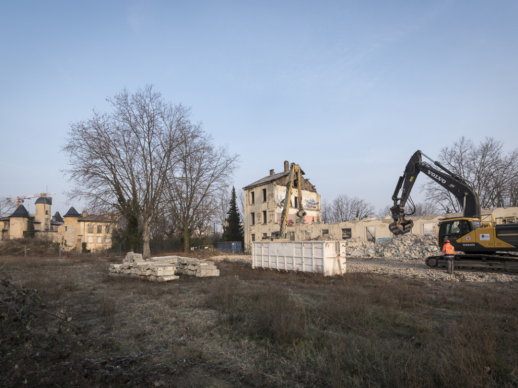 En attendant le nouveau Parc Blandan en 2019