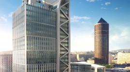 Silex² : la tour qui monte à Lyon Part-Dieu