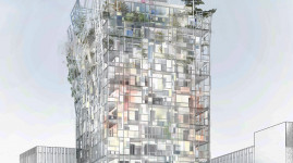 Ycone : un immeuble signé Jean Nouvel à La Confluence