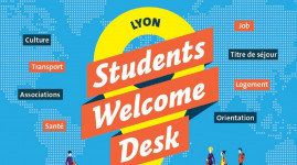 Students Welcome Desk