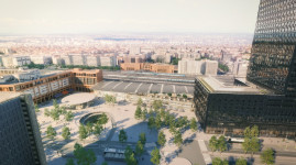 Top départ du projet pour la nouvelle gare Part-Dieu et la tour To Lyon !