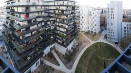 Girondins : un nouveau quartier prend vie à Gerland
