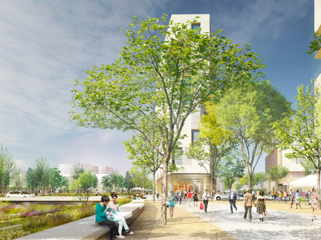 Grand Parilly, un nouveau quartier en 2025