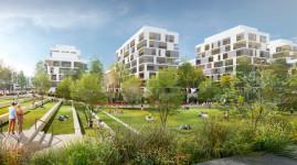 Grand-Parilly : un nouveau quartier à Vénissieux