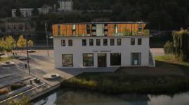 Lyon Confluence : naissance du bâtiment Port Rambaud