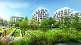 Grand Parilly, un quartier durable