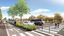 Grand Parilly : les travaux d'accès au quartier démarrent