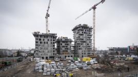Carré de Soie : les constructions sortent de terre côté Villeurbanne