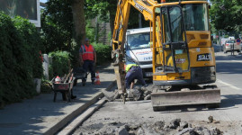 Villeurbanne : des travaux rues Longchamp et Sainte-Famille