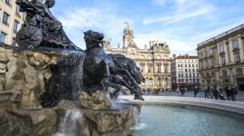 Place des Terreaux : la fontaine Bartholdi retrouvée