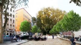 Croix-Rousse : la place Colbert réaménagée