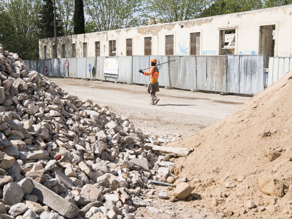 Parc Blandan : l'aménagement du fort a commencé