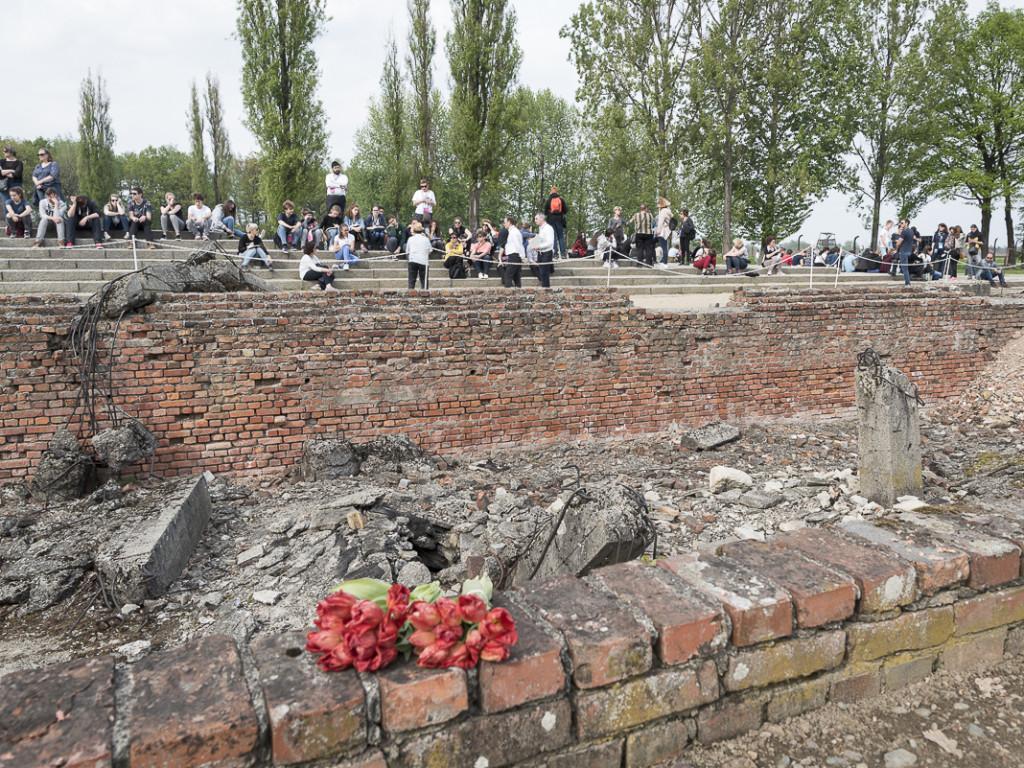 Voyage-mémoire à Auschwitz