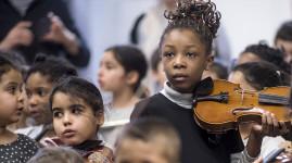 Démos, 120 enfants en concert à l'Auditorium de Lyon
