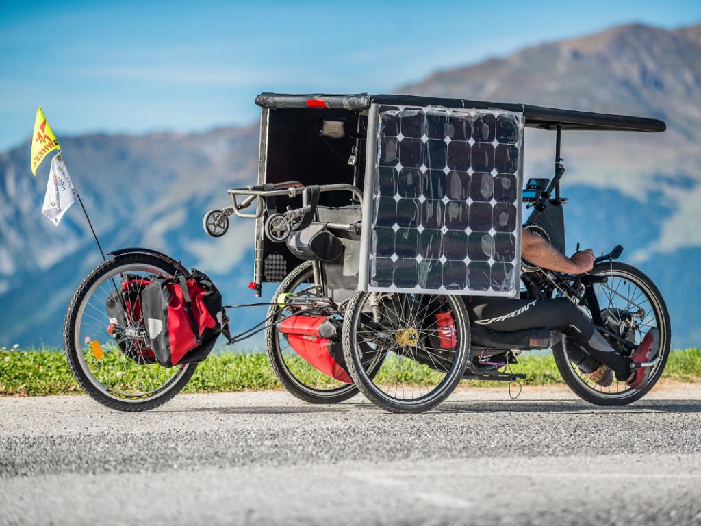 Sun Trip 2018 : grand départ du rallye à vélo... solaire !