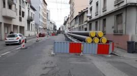 Chauffage urbain : travaux sur le secteur pont Pasteur
