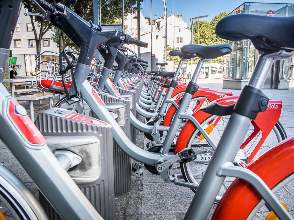 Le nouveau Vélo'v est arrivé dans la Métropole de Lyon !