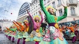 Défilé de la biennale de la danse 2018