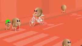Autos, 2 roues, vélos, piétons : la rue, ça se partage !
