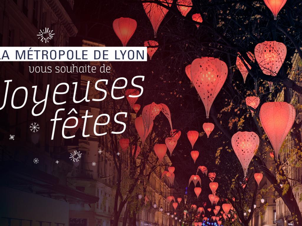 La Métropole vous souhaite de joyeuses fêtes de fin d'année !