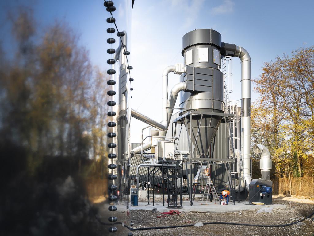 La plus grande chaufferie biomasse de France