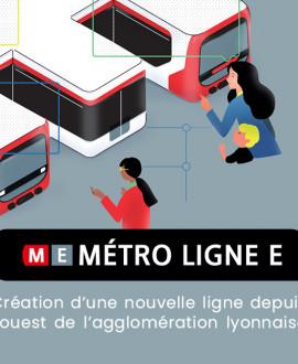 Nouveau métro E : donnez votre avis jusqu'au 6 mai