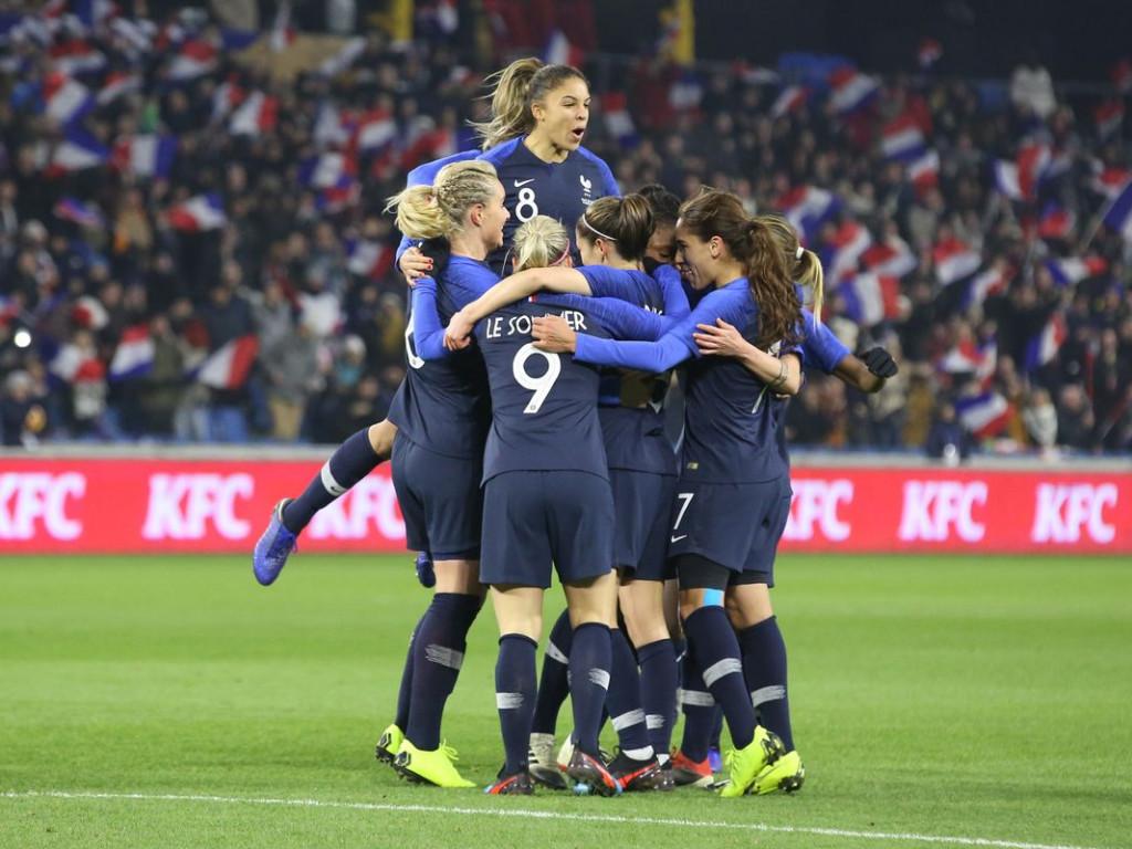 Les Bleues en route pour les 1/4 de finale !