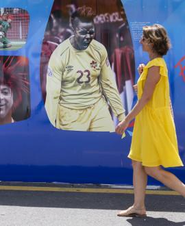 Femmes de foot, l'exposition 'Quand l'émotion débarque à Lyon'