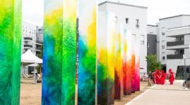 Carré de Soie : des œuvres d'art dans les nouveaux espaces publics