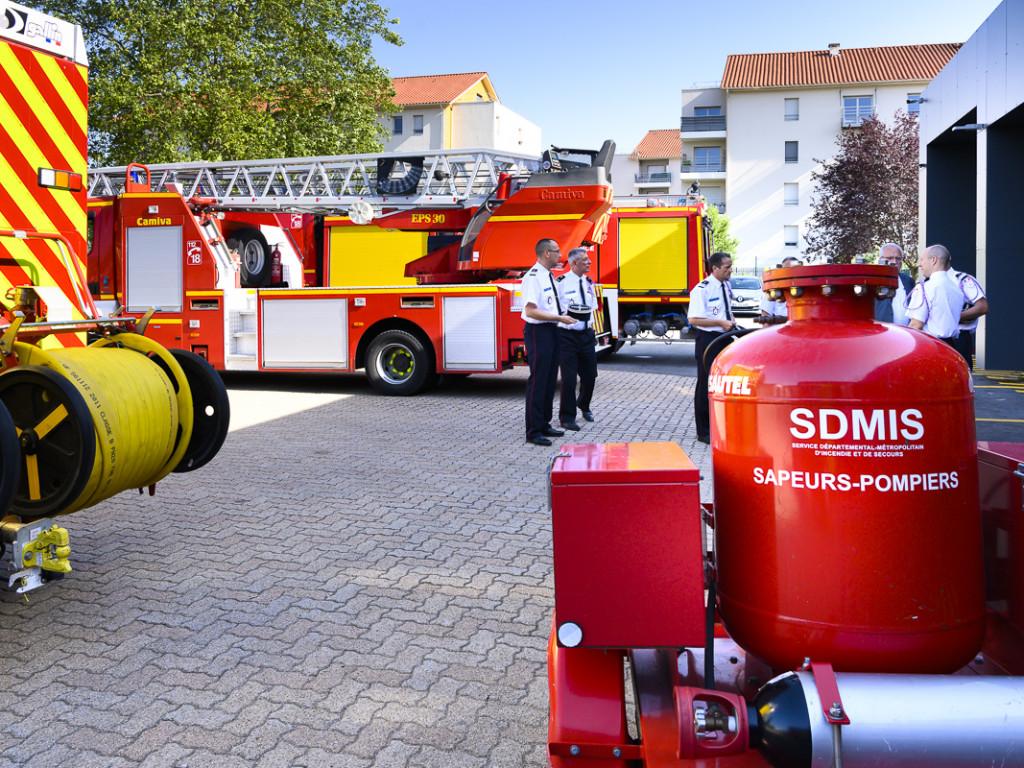 Pompiers : la caserne de Pierre-Bénite rénovée