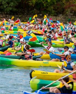 Réservez votre canoë pour la Lyon Kayak 2019