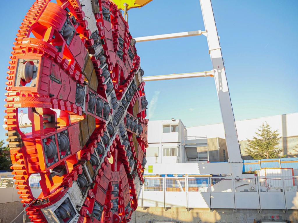 Métro B : la construction du tunnel se prépare
