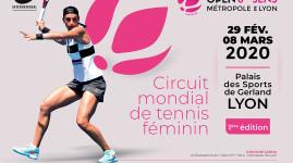 Tennis : la n°7 mondiale à l'Open 6ème sens Métropole de Lyon