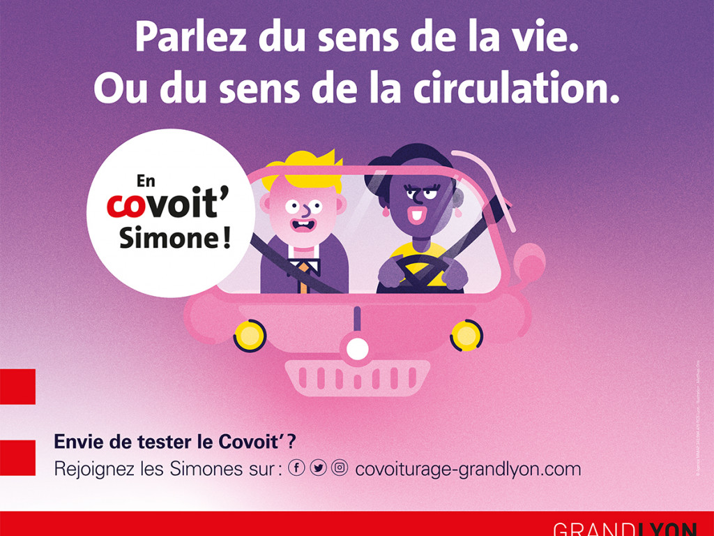 Testez le covoiturage et rejoignez les Simones !