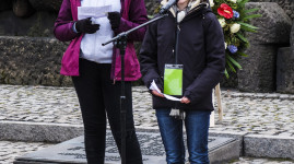 Les collégiens en voyage mémoire à Auschwitz